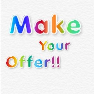 Make your offer now by clicking the offer button🎊